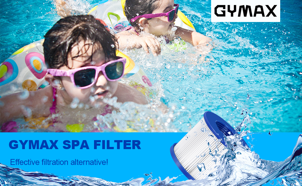 enjoy healthy spa with GYMAX spa filter