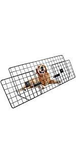 dog car barrier for pets for car travels