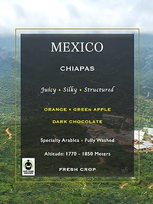 Mexico Chiapas Veracruz Oaxaca Mexican Guatemala Green Raw Unroasted Coffee Beans Organic whole Home