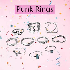 punk rings