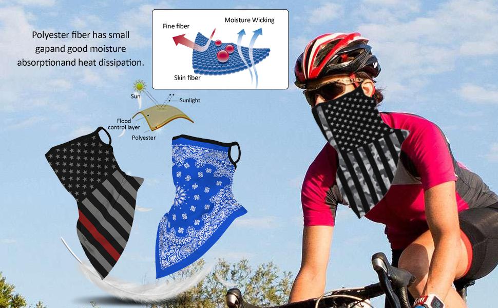 face mask bandana mouth cover for men women