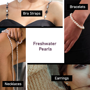 crystal bra strap clasp presentation box  good quality great luster xmas present for women pearls