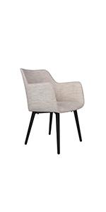 LUCKYERMORE Modern Italian Design Dining Chair