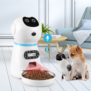 3,8 l Mangiatoia automatica per gatti e mangiatoia per cani di taglia piccola Keneke media e grande