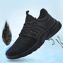 Amazon.com: DYKHMILY Steel Toe Sneakers
