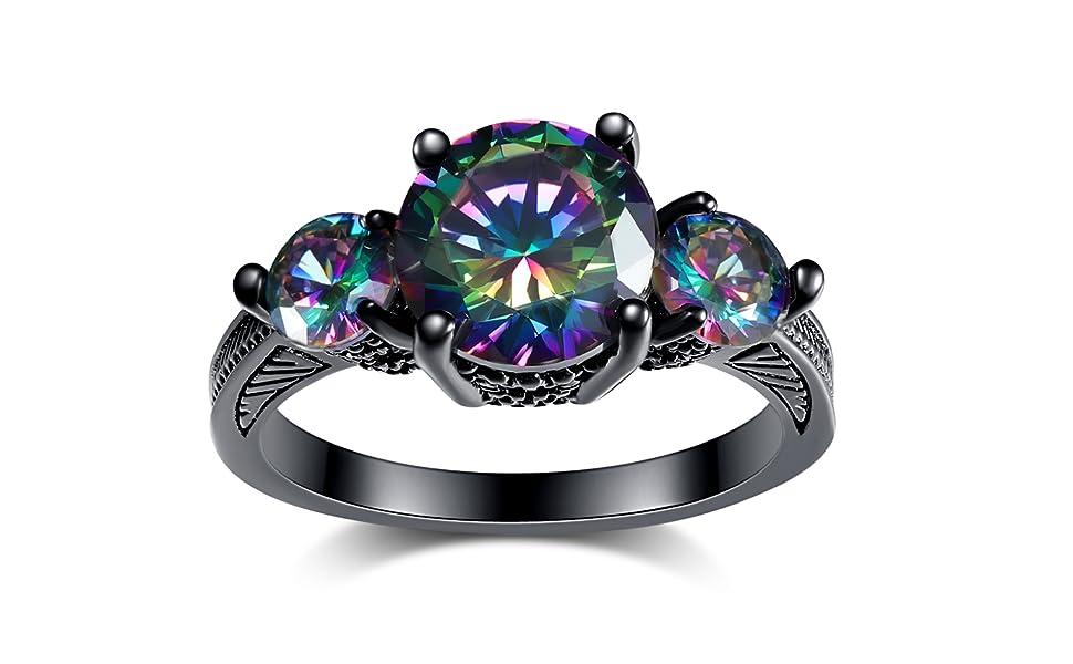 Black Women Ring