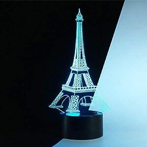 3d led night lamp