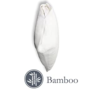 bamboo,pillow,protector,white