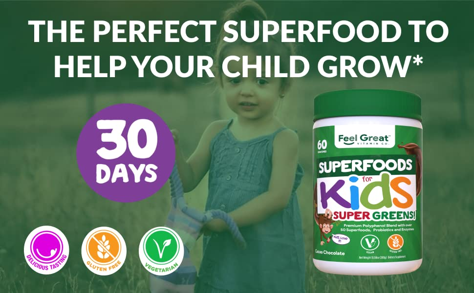 superfood greens reds healthy digestion health supports polyphenols organic ingredients vegetarian