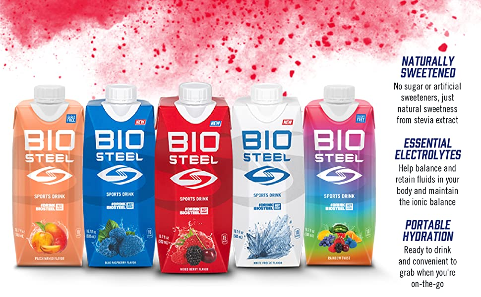 Sports Drink Lineup