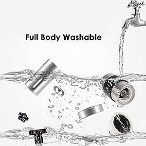 Whole body washable