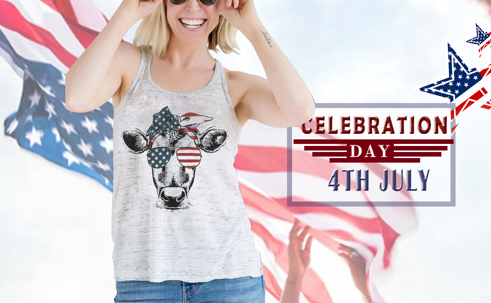 usa flag sleeveless shirt