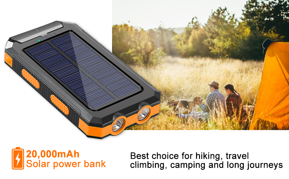 solar charger power bank  power bank for iphone