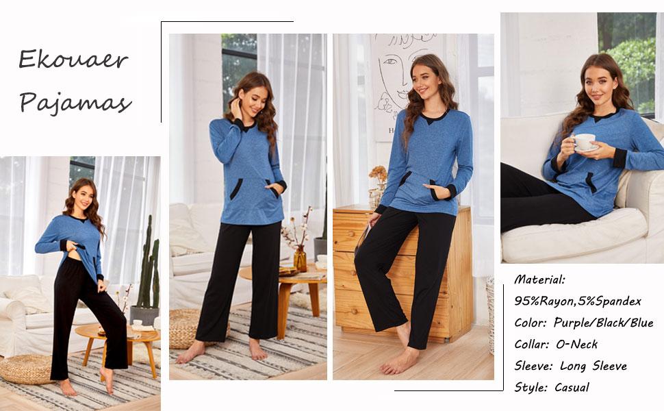 soft pajamas set