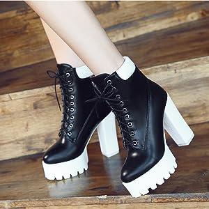 platform boots for women