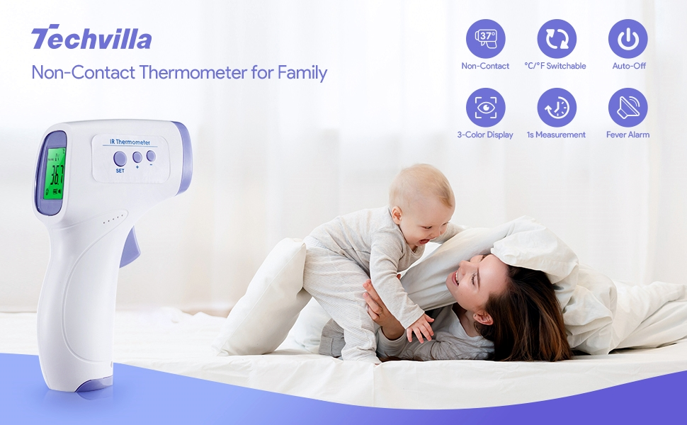 thermometer for adults & babies