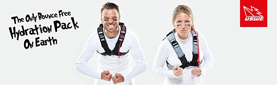 The Only Bounce Free Hydration Pack On Earth