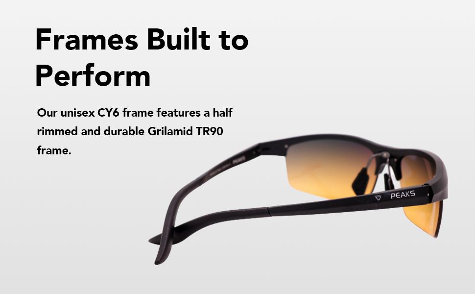 Non-polarized golf sunglasses
