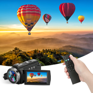 4K Video Camera With Remote Control