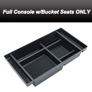sierra center console tray