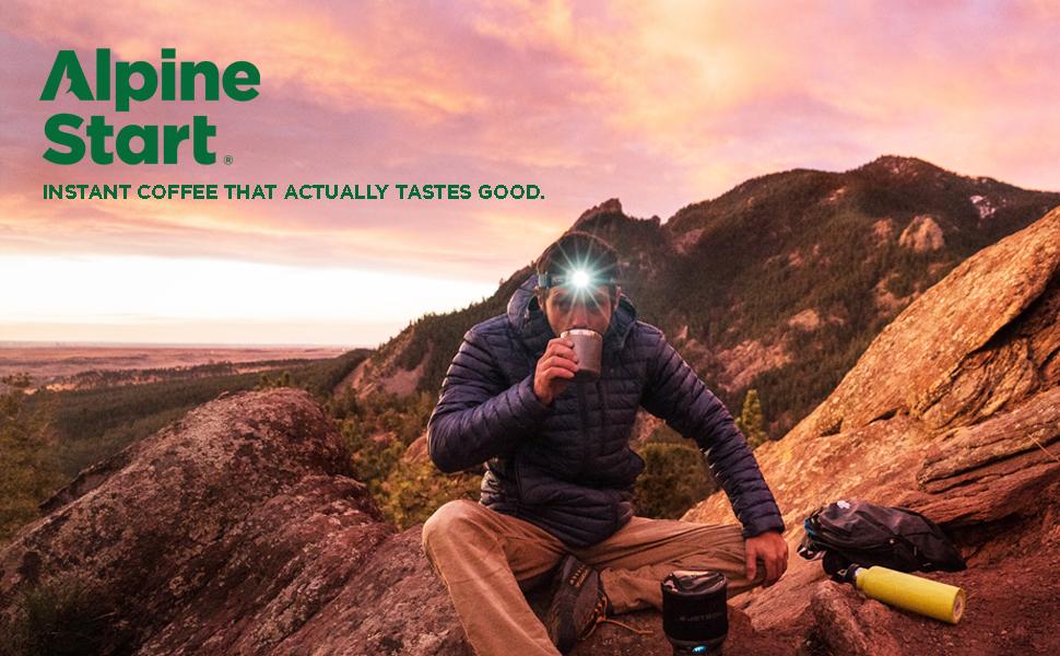 Alpine Start Instant Coffee + Creamer Latte