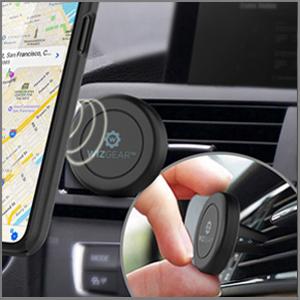 Wizgear - Soporte magnético para teléfono de coche