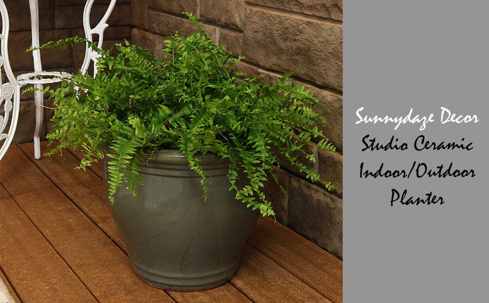 Studio Ceramic Indoor/Outdoor Planter