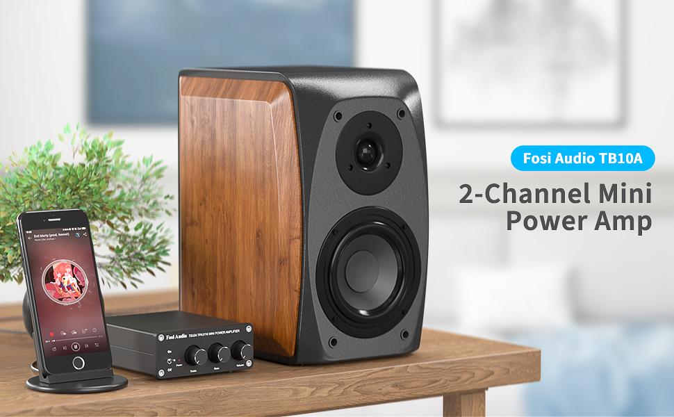 Fosi Audio 2 Channel Amplifier TB10A