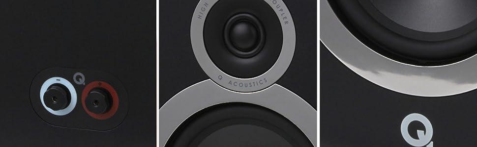 Q Acoustics 3030i speaker front