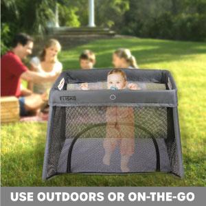 on the go, portable crib, portable bassinet, convenient
