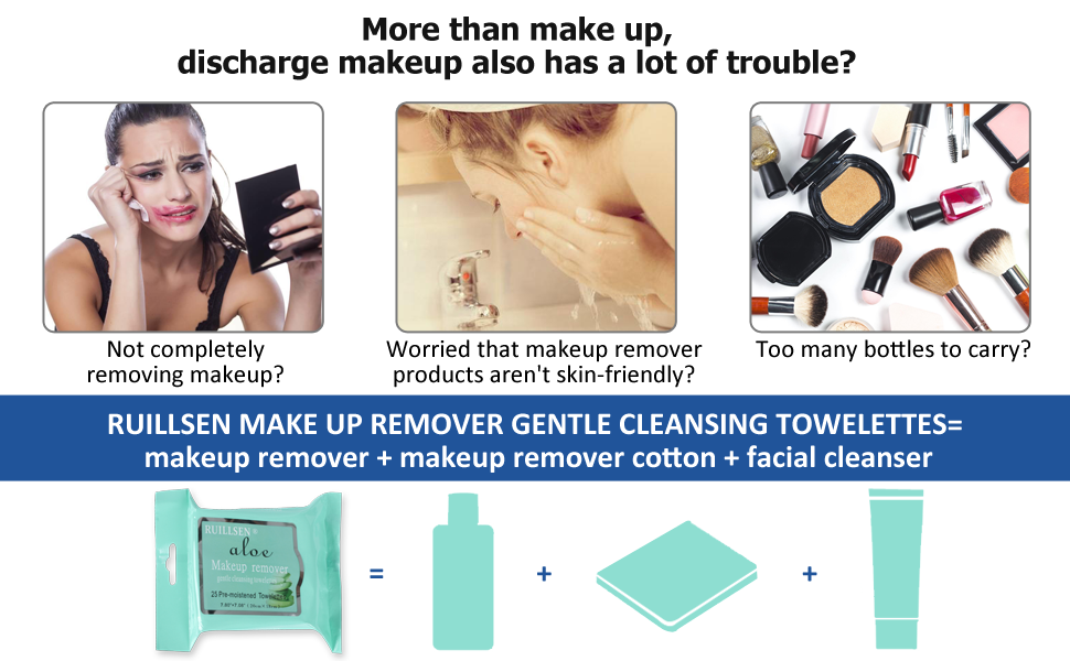 make up removal cleansing towelettes