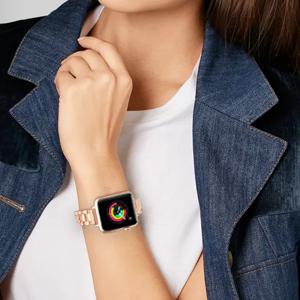 Apple watch band metal