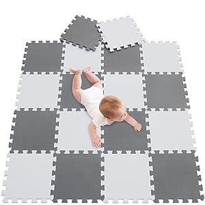 Details about  /36pcs Kid/'s Educational Puzzle Exercise Play Mat w// EVA Foam Interlocking Tiles
