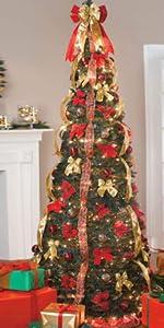 7.5 ft pop up tree
