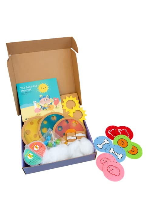 toy stem learning diy craft toys 5 year old 6 7 kiwico preschool gift osmo steam kit windchime uv