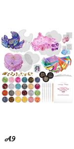 LOT 66 Kits! Trinket Box Resin Silicone Mold Set