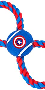 Captain America Rope Toy