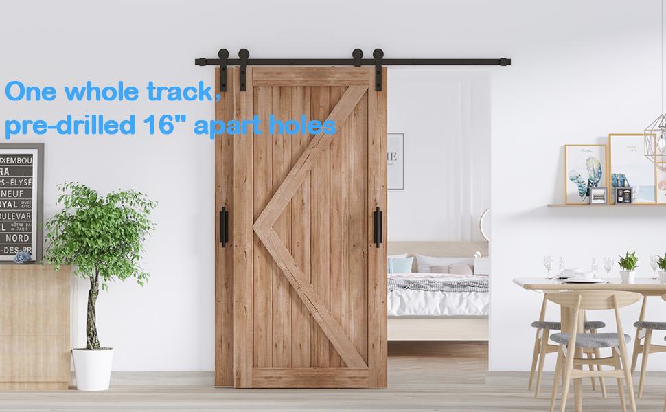 bypass barn door hardware single track