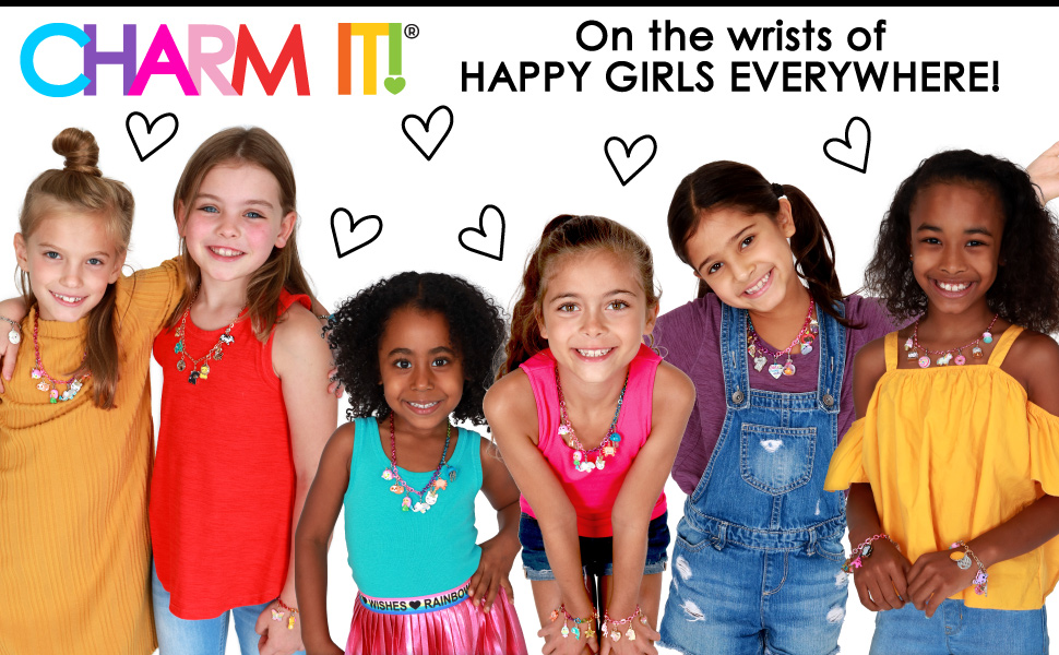 CHARM IT! On the wrists of HAPPY GIRLS EVERYWHERE!