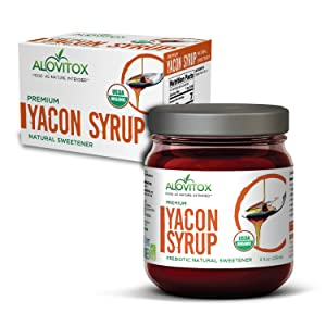 100% Pure Yacon Syrup - USDA Certified Organic Natural Sweetener
