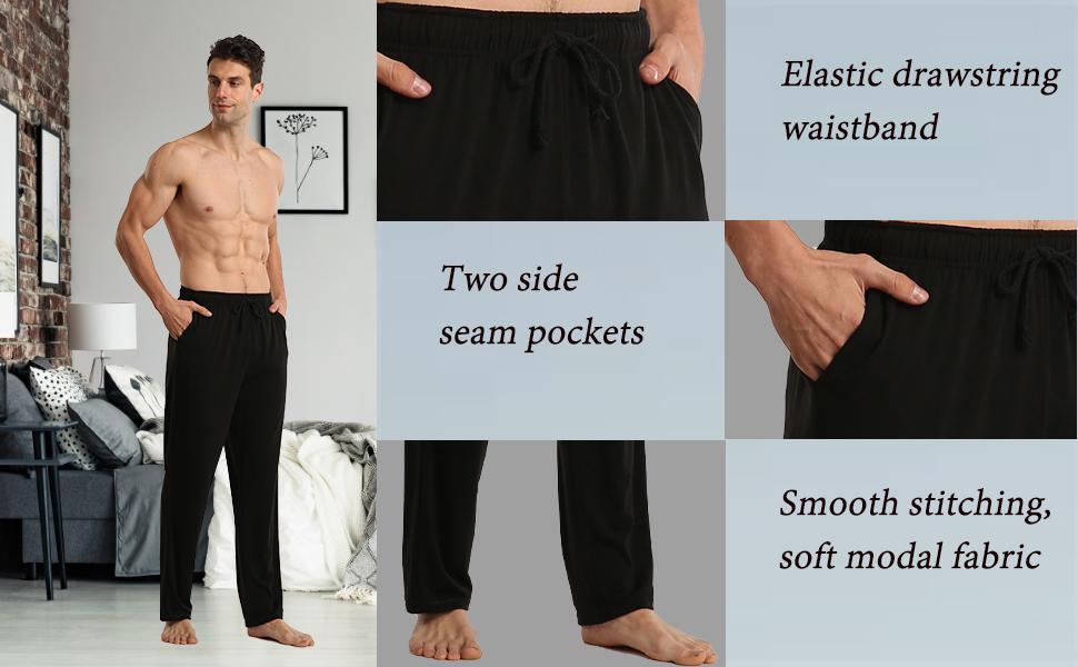 mens ultra soft pajamas bottoms