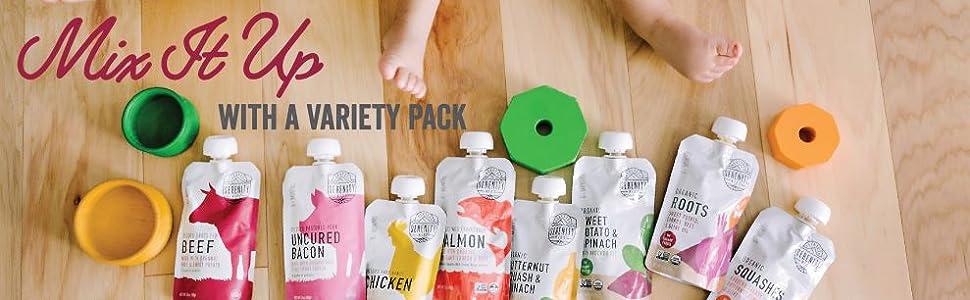 Organic Savory Baby Food