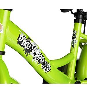 BIKESTAR Bicicleta Infantil para niños y niñas a partir de 4 años Bici 16 Pulgadas con frenos