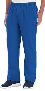 Model wearing Jockey 2305 Men's Seven Pocket Stretch Scrub Pant