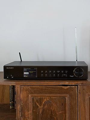 SANGEAN WFT-3 FM / DAB / DAB + -radio, UPnP-muziekstreaming, Spotify bedienen