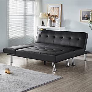 YAHEETECH Convertible Sectional Sofa Couch