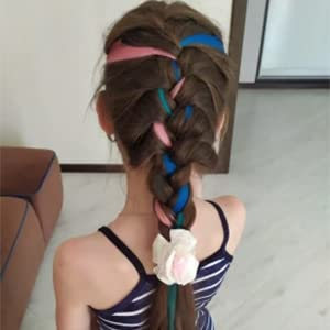 hair color clips for girls