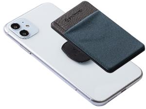 phone card holder card case adhesive credit card secure slim wallet phone wallet men women mount