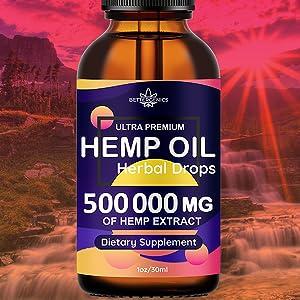 Hemp oil 500 000 mg