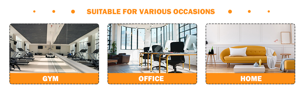 suitable for vaious  situatiom, gym office home